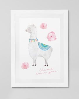 Cute Llama series