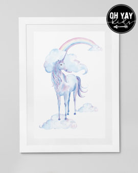Watercolour Unicorn