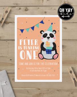 Panda party: Boys