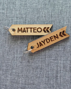 Handcrafted Bag tags